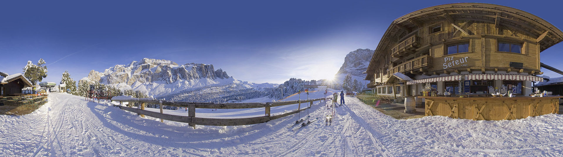 panorama sellaronda blu - Piz Seteur